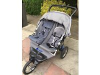 Double pushchair / buggy