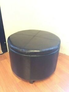 High Quality PU Leather Round Storage Ottoman Wantirna South Knox Area Preview