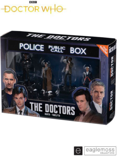 Eaglemoss Doctor Who The Four Doctors 9th, 10th, 11th and 12th Figurine Set New