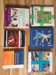 University textbooks for sale - Bachelor of Nursing First Year
