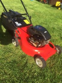 "Rover 17"" push mower perfect condition alloy deck high spec"