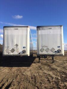 Dry van storage