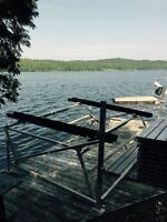 Hobie Cat Boat lift - Sail in and out safely!