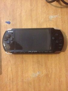 Sony PSP with 3 games