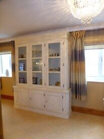Beautiful Laura Ashley Provençale display cabinet cost approx £1800