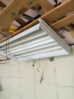 LARGE FLOURESCENT LIGHT FIXTURES (4) $20 for all