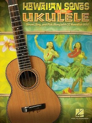 Hawaiian Songs for Ukulele Sheet Music Ukulele Book NEW 000696065