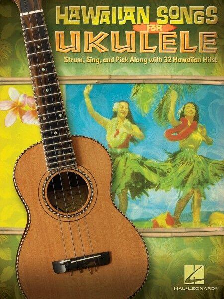 Hawaiian Songs for Ukulele Sheet Music Ukulele Book NEW 000696065