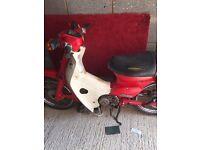 Honda c90 unfinished project