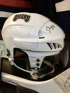 Sam Gagner Game Worn Rookie Season Helmet