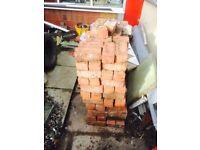 Reclaimed old bricks