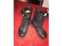 German army para boots size 8