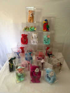 Collection of 38 Beanie Babies, with tags & cases, all from a sm Belleville Belleville Area image 2