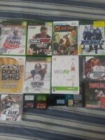 Gamecube, PS1, PS2, XBOX, WII, 360, GBA GAMES/JEUX