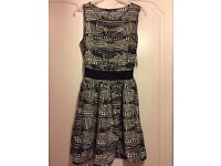 Black and white size 10 dress