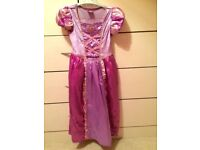 Disney Rapunzel Dressing up 5-6 years. Fancy Dress Costume