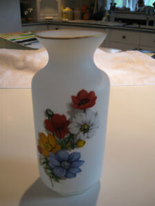 ...A BEAUTIFUL OLD SATIN GLASS VASE