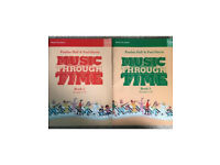 Music through time books 2 and 3