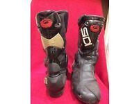 Sidi motorcycle sport boots