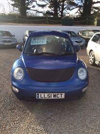 Volkswagen Beetle 12 months mot 6 months warranty