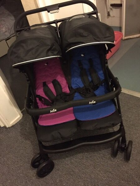 Joie double buggy used once