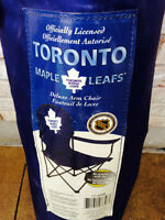 Officially Licensed Toronto Maple Leafs Deluxe Arm Chair