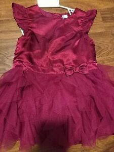 24 Month Wine Colored George Dress