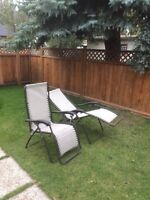 Patio Chairs Recliners - $80 for Both