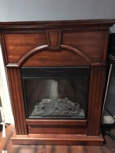 Electric Fireplace Heater $150 OBO