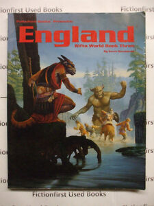 "Roleplay Manual: ""Rifts, World Book 3 England"""