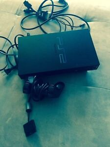 PLAYSTATION 2 in GREAT SHAPE, GAMES, CONTROLLERS!  London Ontario image 1