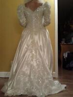 beautiful wedding dress robe de mariage high quality