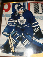 Felix Potvin, 8 X 10 photo, autographed, great gift for Leaf fan