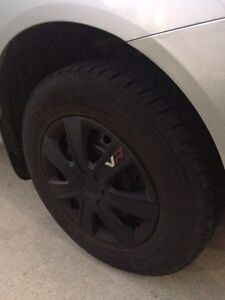 2008 Nissan Rogue S SUV - Crossover with Winter Tires Installed London Ontario image 3