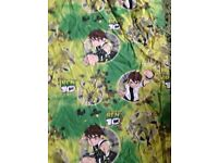 63x 53 Ben 10 curtains brillant condition not faded