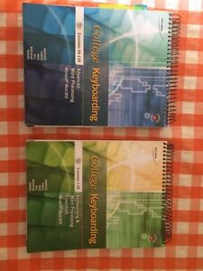 College Keyboarding Textbooks