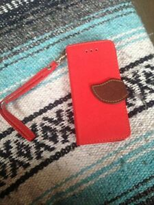 Case rouge pour iphone 5c - neuf