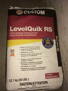 2 BAGS OF SELF LEVELING CEMENT (50LBS EACH) FOR SALE