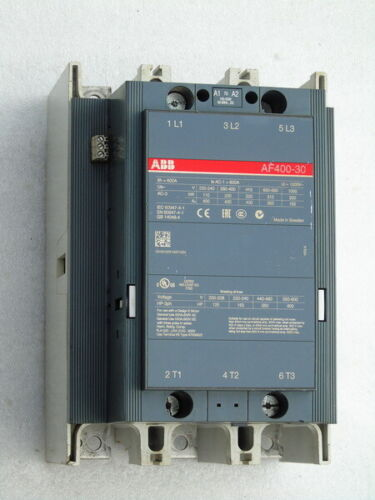 ABB SWEDEN AF400-30 SWITCHGEAR CONTACTOR DESIGN E MOTOR 3 POLE ELECTRIC BREAKER