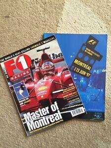 Lot de 31 revues F1 RACING de 1998-2000