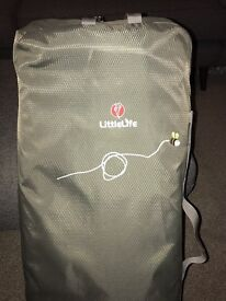 Littlelife traveller S2 with comfort pack and rainy day cover