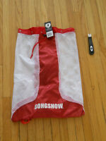 Gongshow Gitch  Bag Red and Gongshow Sharpen Up NEW