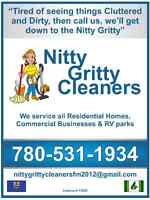 NITTY GRITTY JANITORIAL  24/7 WE GET DOWN TO THE NITTY GRITTY