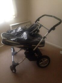 First wheel Twin buggy