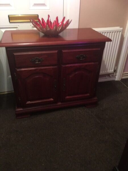 Sideboard dark wood colour