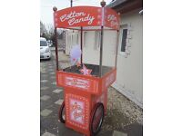 Candy floss machine and cart for sale!