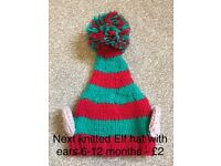 Toddler boys 12-18 months / 18-24 months / 1.5-2 / 2-3 hats - includes unisex Christmas hats!