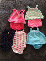 Lot of Carters summer clothes 0-3 months