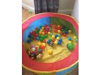 free childrens ball pit