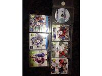 PS3 FIFA 09-16 games